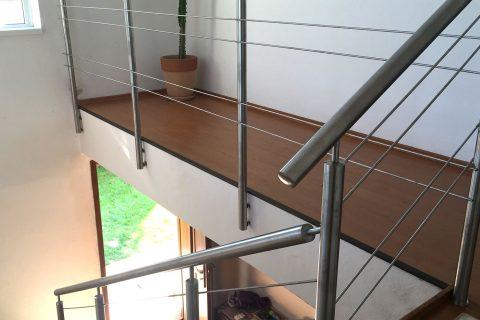 Interiérové zábradlie na schody
